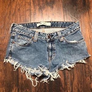 Daisy dukes jean shorts